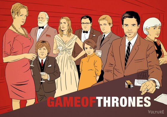 game of thrones mad men