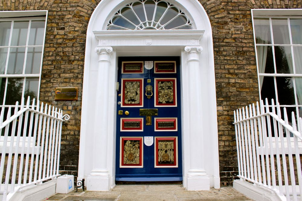 240 - Georgian doors, Dublin