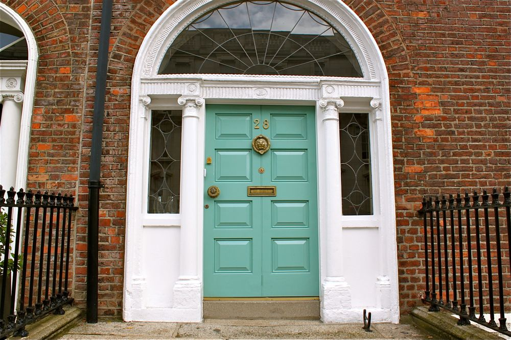243 - Georgian doors, Dublin