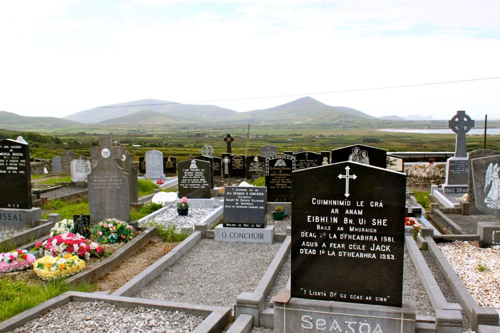 788 -Kilmalkedar Church, Dingle Peninsula