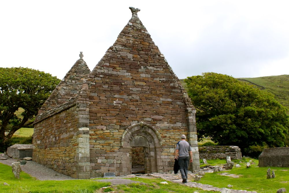 789 -Kilmalkedar Church, Dingle Peninsula