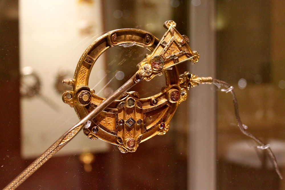 90 -Tara Brooch at National Museum of Archaeology, Dublin