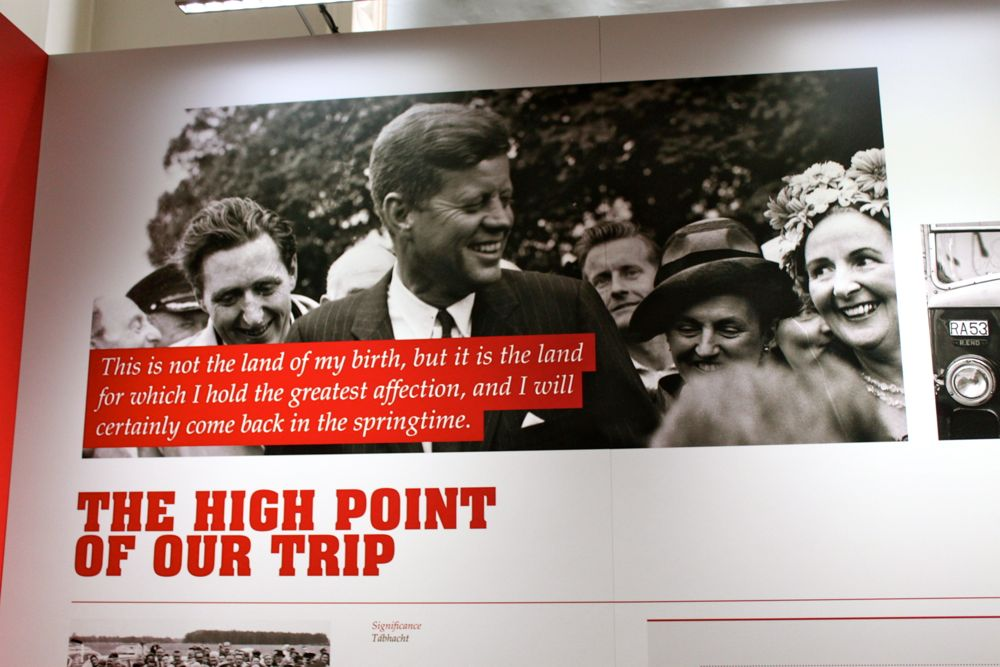 97 -JFK Exhibit at National Library, Dublin