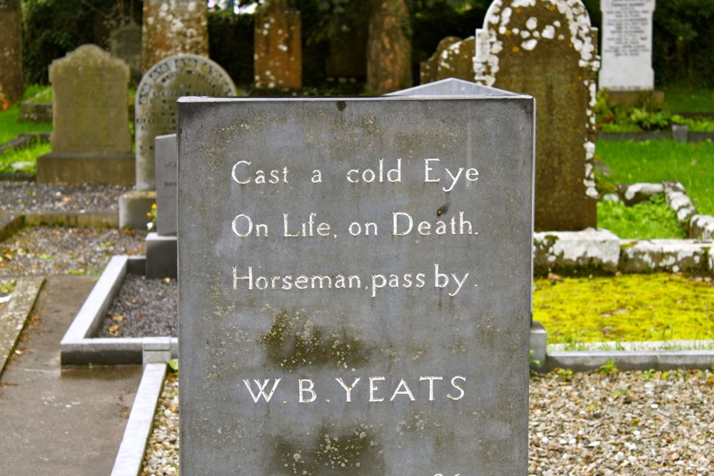 1140 -WB Yeats gravesite