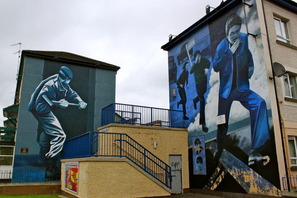 1153 -Murals, Derry