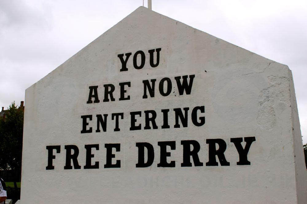 1160 -Murals, Derry