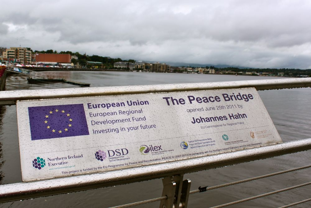 1189 -Peace Bridge, Derry