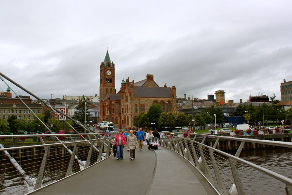 1194 -Peace Bridge, Derry