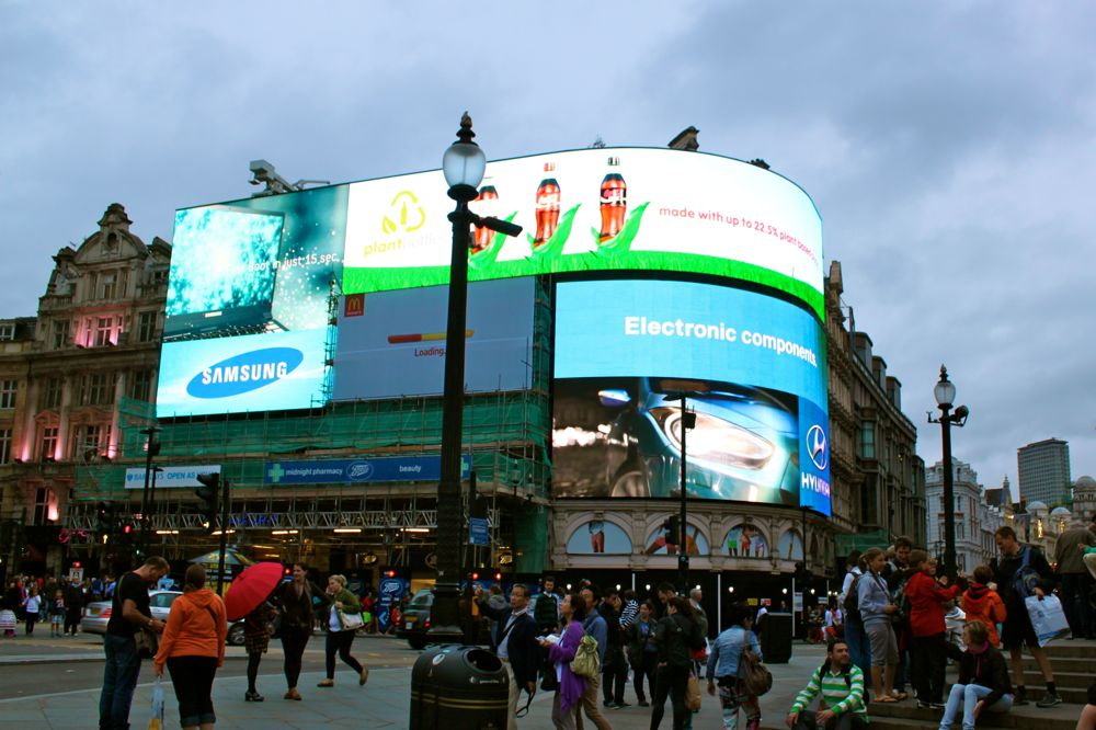 1413 -Picadilly Circus, London
