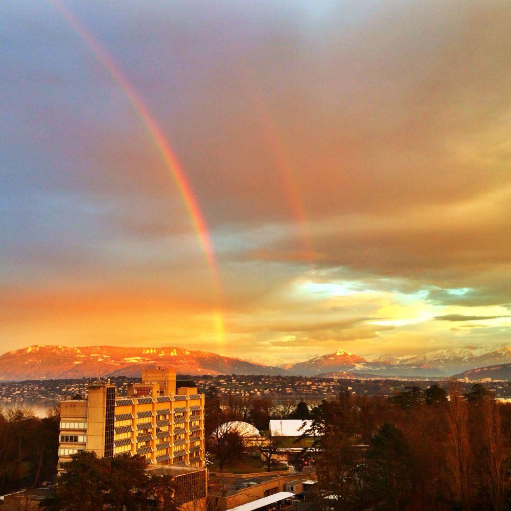 Geneva -Sunset