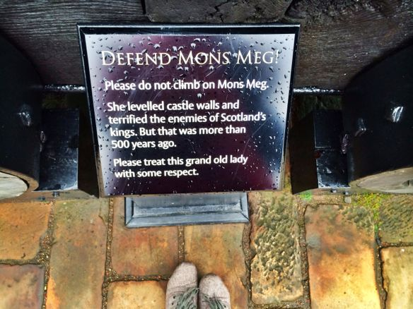 Edinburgh: The Mons Meg Cannon