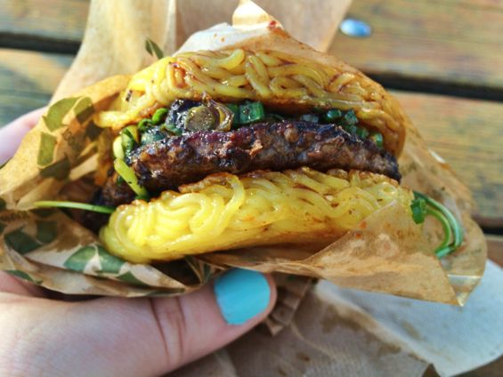 Ramen Burger (Smorgasburg)