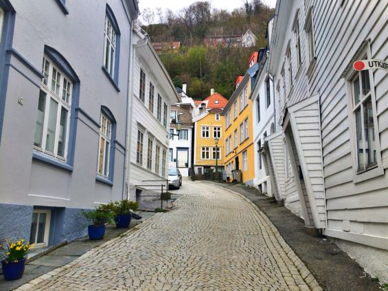 Bergen Norway Back Streets10