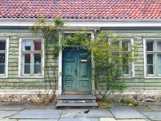 Bergen Norway Back Streets11