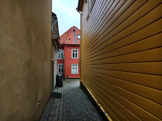 Bergen Norway Back Streets14