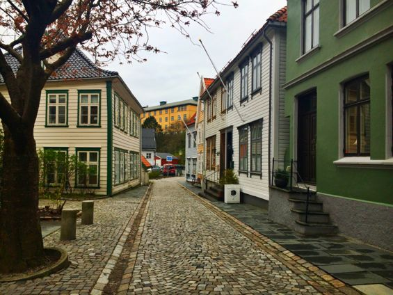 Bergen Norway Back Streets17