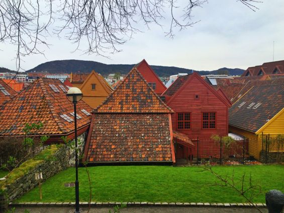 Bergen Norway Back Streets2