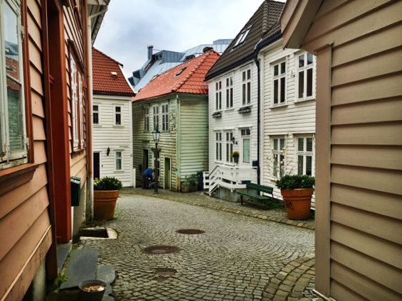 Bergen Norway Back Streets24