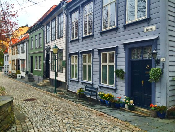 Bergen Norway Back Streets4