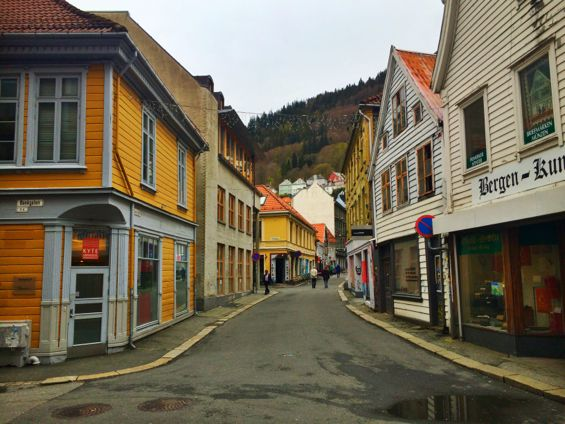 Bergen Norway Back Streets7