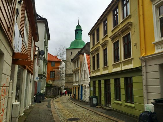 Bergen Norway Back Streets9