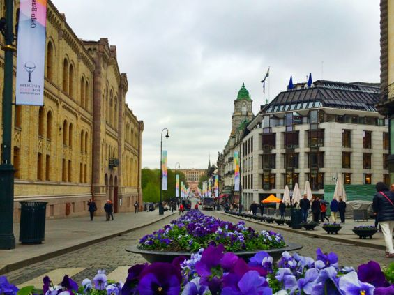 Oslo - Karl Johans Gate2