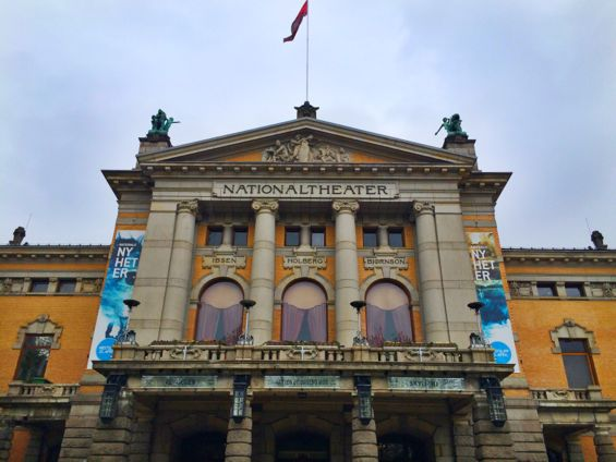 Oslo - National Theater3