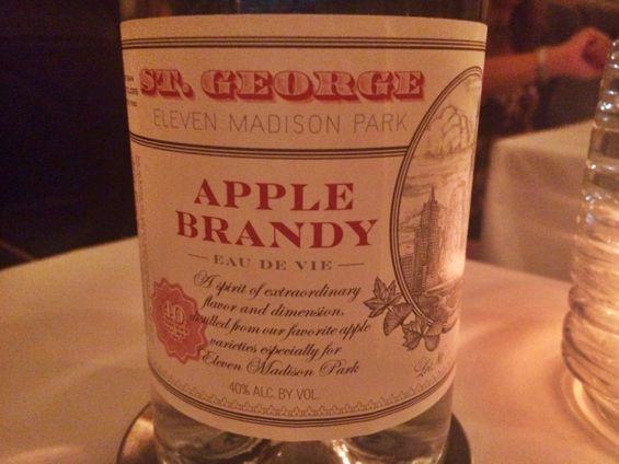 Eleven Madison Park - Apple Brandy