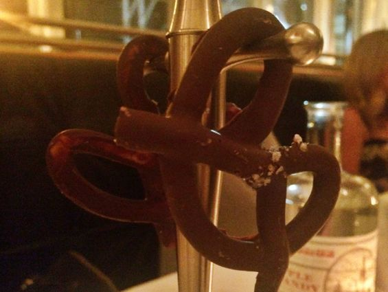 Eleven Madison Park - Chocolate Covered Pretzels