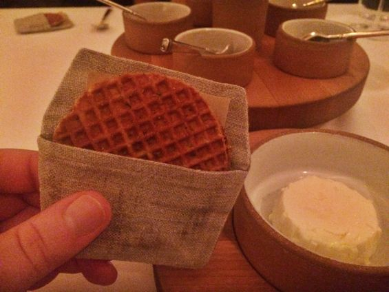 Eleven Madison Park - Stroopwafel & Farmer's Cheese