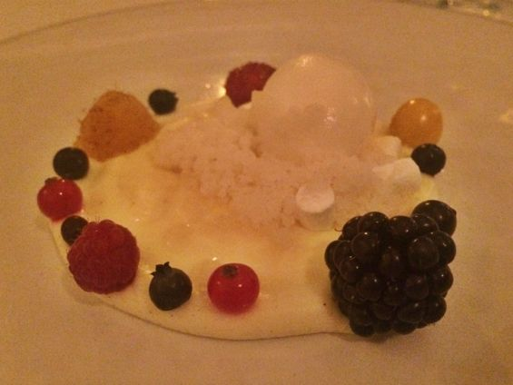 Eleven Madison Park - Summer Berries Cheesecake