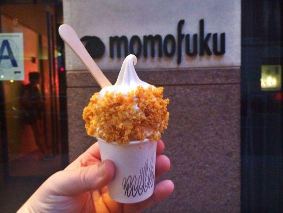 Momofuku Milk Bar - Cereal Milk Ice Cream