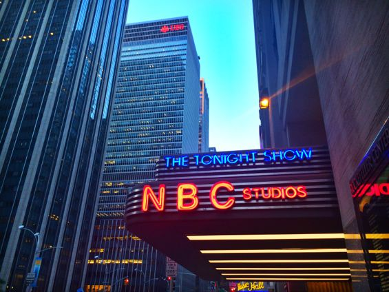 NBC Studios Seth Meyers