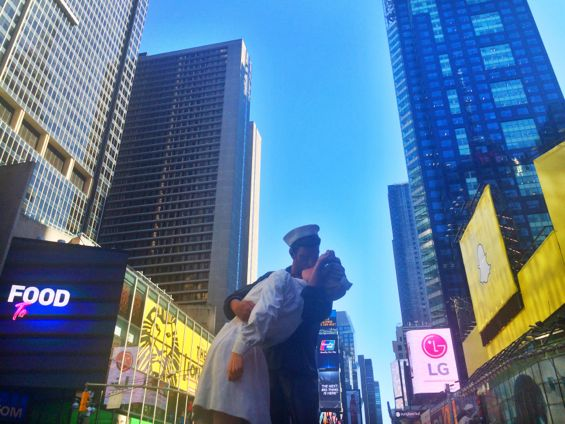The Kiss in Times Square