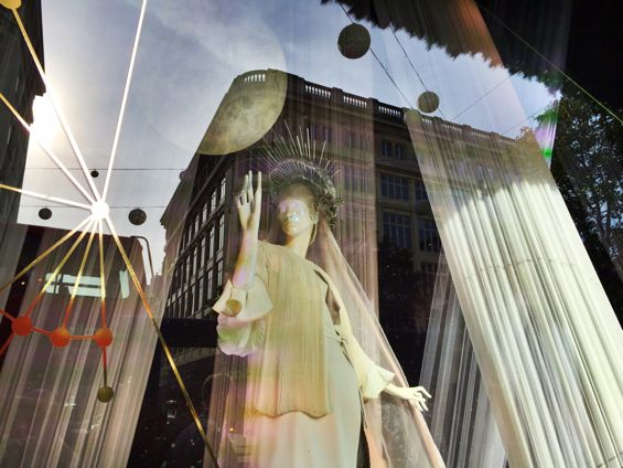 Cancer - Selfridges Christmas Windows