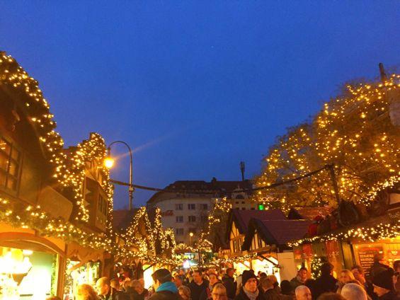 Cologne Rudolfplatz Christmas Market1