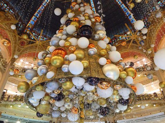 Galeries Lafayette Christmas Tree2
