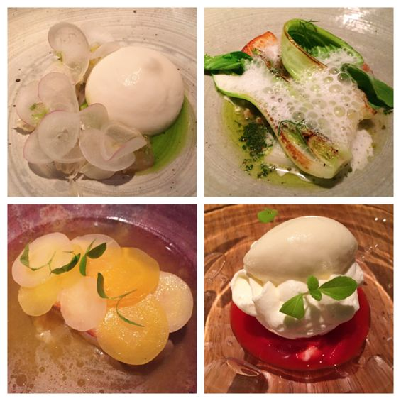Sola Paris dinner tasting menu