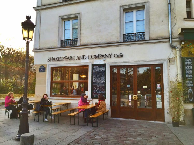 Shakespeare & Co Cafe 3