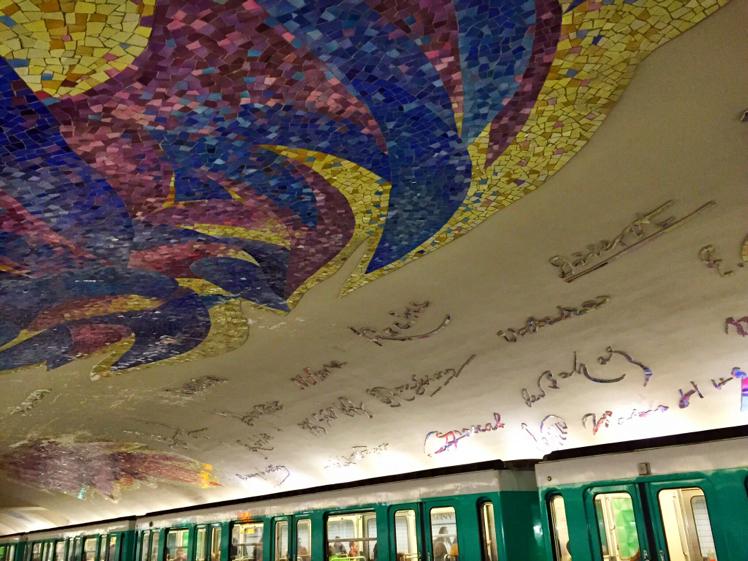 Paris Metro Ceiling
