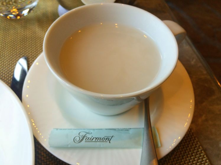 Quebec - Afternoon Tea at the Frontenac2