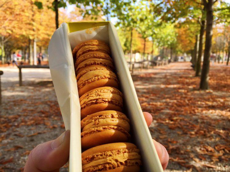 Pierre Hermé Salted Caramel Macarons